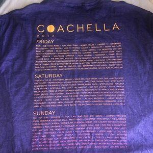 Coachella 2013 Vintage Line Up T- Shirt